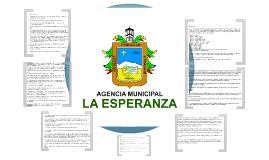 Presentación Agencia Municipal de La Esperanza