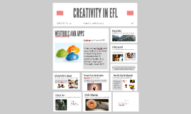 CREATIVITY IN EFL -University