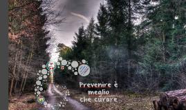 Prevenire è meglio che curare - sito web