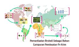 Pemanfaatan Brokoli Sebagai Bahan Campuran Pembuatan Es Krim