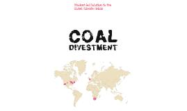 Coal Divestment