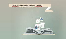 Titulos & Operaciones de Credito