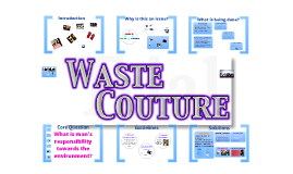 Waste Couture