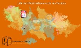 Libros informativos o de no ficción