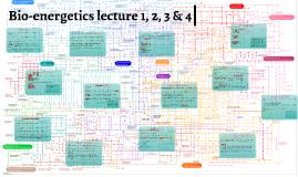 Bio-energetics lecture 1 & 2