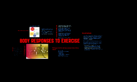 Copy of Body Responses To Exercise
