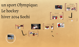 sport olympique: le hockey