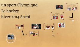 sport olympique: le hockey