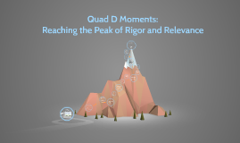 Copy of Quad D Moments: The Peak of Knowledge