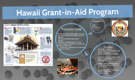 Hawaii Grant-in-Aid Program