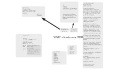 SIME - konferens 2009