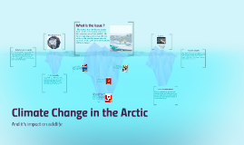 Climate Change in the Arctic