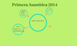 Primera Asamblea 2014
