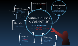 University of Cantabria - Virtual Courses