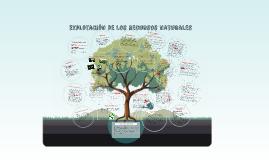 Copy of Explotación de los recursos naturales