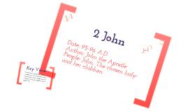 I,II,III John