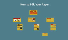 How to Edit Your Paper