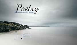Poetry Intro