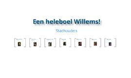 Een heleboel Willems