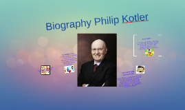 Biography Philip Kotler
