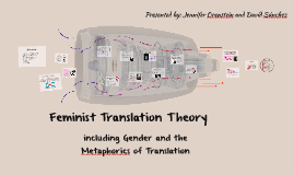 Gender and the Metaphorics of Translation