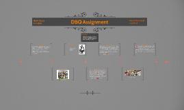 DBQ Assessment