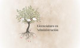 Licenciatura en Administración