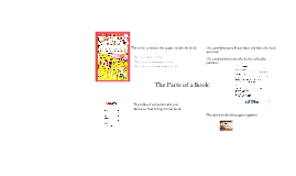 Copy of parts of a book