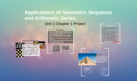 Applications Of Arithmetic Series And Ge