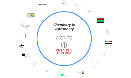 Chemistry in Astronomy