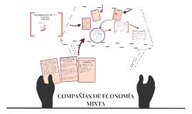 COMPAÑÍAS DE ECONOMÍA MIXTA