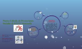 Nuevo Cálculo de Prestaciones Sociales (LOTTT) Venezuela