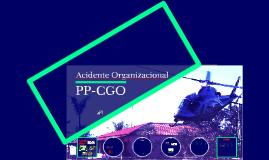 PPCGO - Acidente Organizacional