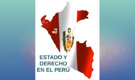Estado y Derecho en el Perú