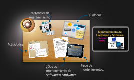 Mantenimiento de Hardware y Software