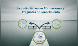 Copy of Copy of Distincion entre afirmaciones y preguntas