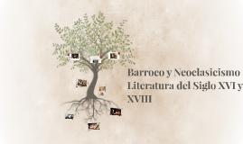 Barroco y Neoclasicismo
