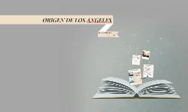 Origen de los ángeles