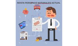 RENTA PERSONAS NATURALES ACTUAL