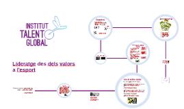 ITG-Joves, valors, esport