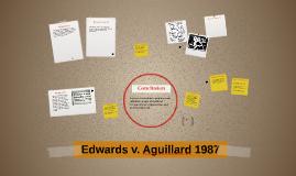 Edwards v. Aguillard 1987
