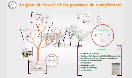 Le plan de travail et les parcours de compétences