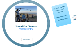 Sound For Cinema Presentation