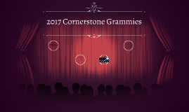 2017 Cornerstone Grammy's