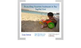 Social Media for boosting tourism