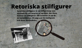 Retoriska stilfigurer