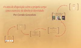 Defesa - Mestrado - Camila Gonçalves