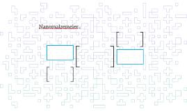 Nanomalzemeler...