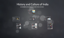 History and Culture of India