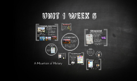 Unit 1 Week 5